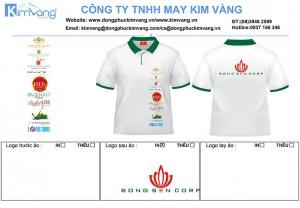 dong phuc ao thun bong sen group